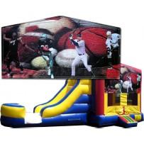 Sports Banner Bounce Slide combo (Wet or Dry)