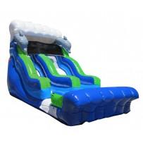 18ft Flipper Dipper Dry Slide