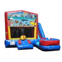 Seaside 7n1 Bounce Slide combo (Wet or Dry)