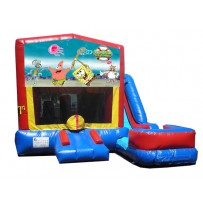 Sponge Bob 7N1 Bounce Slide combo (Wet or Dry)
