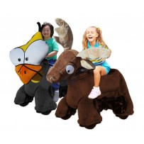 Rydables Animal Go Carts - Chicken & Moose