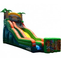 18ft Tiki Island Wet/Dry Slide
